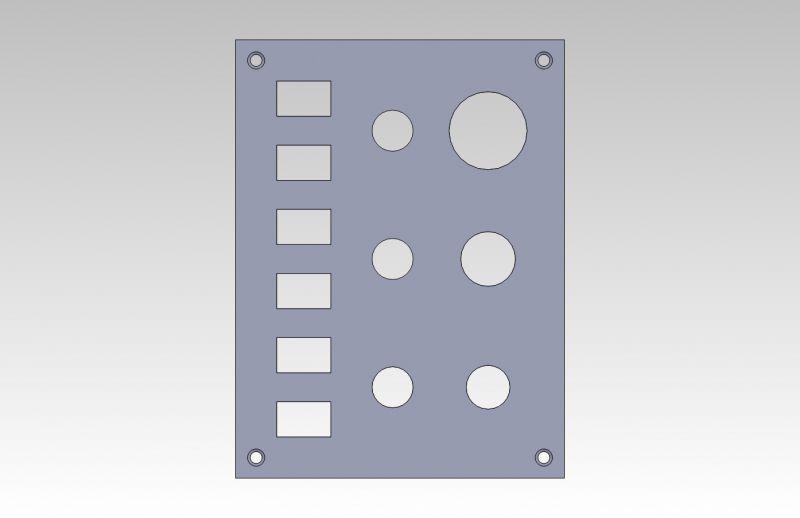 Zakázková výroba vypínačových panelů se zásuvkou ...