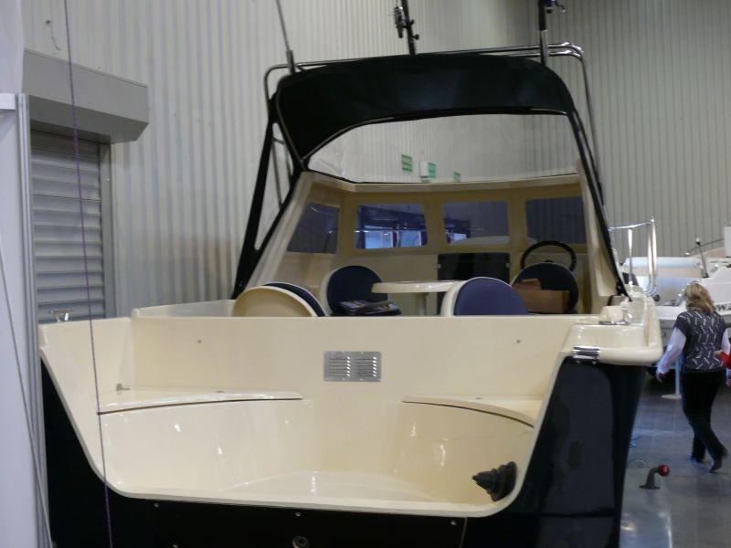 Motorová loď G600 200Hp 6,3m rybářská
