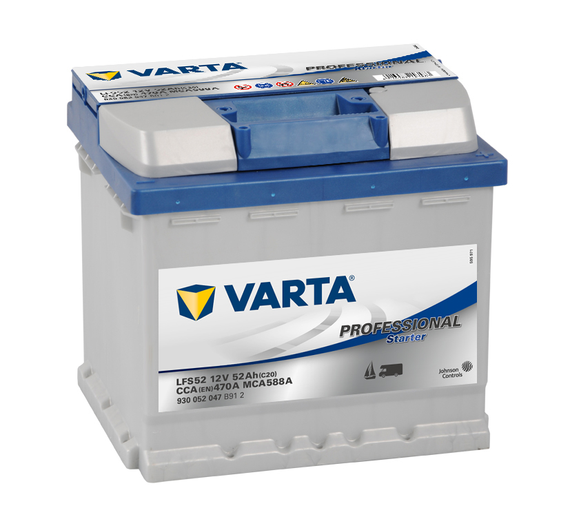 VARTA Professional Starter 52Ah , LFS52